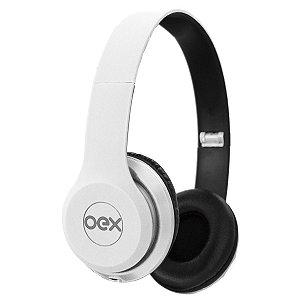 Fone De Ouvido Com Microfone Headset Style P2 Cabo 1,2M Newex