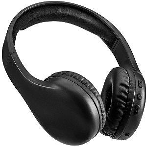 Fone De Ouvido Com Microfone Joy P2 Bluetooth Preto Multilaser