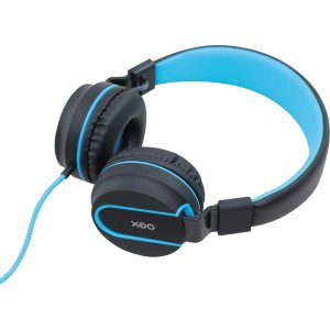 Fone De Ouvido Com Microfone Neon Azul Embor.acolchoado Newex