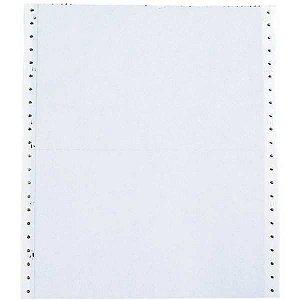 Formulario Continuo Branco 1 Via 80 Colunas 56G. Tamoio