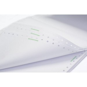 Formulario Continuo Branco 1 Via 80Col.microform 56G. Agaprint