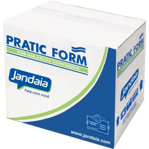 Formulario Continuo Branco 1 Via 80Col.pratic 56G. Jandaia