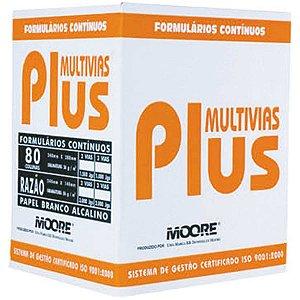 Formulario Continuo Branco 2 Vias 80 Colunas Plus Moore Brasil