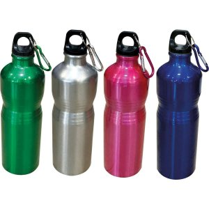 Garrafa De Aluminio Color Sortidas 500Ml. Kit