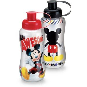 Garrafa Plastica Mickey Mouse 550Ml. Pet Plasduran