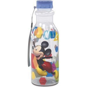 Garrafa Plastica Mickey Retro 500Ml. Plasutil