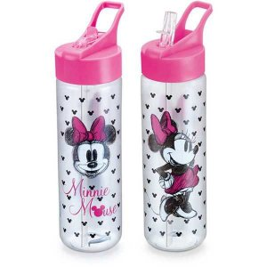 Garrafa Plastica Minnie Fliptop 700Ml. Sort. Plasduran