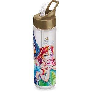 Garrafa Plastica Princesas Fliptop 700Ml. Plasduran