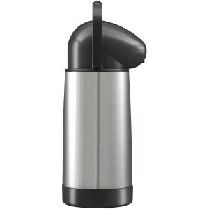 Garrafa Termica Pressao Nobile Pump 1L. Inox Mor