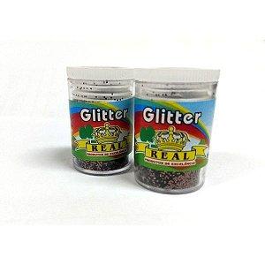 Glitter Pvc Bronze Potes 3G. Real Seda