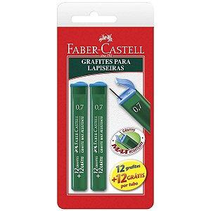 Grafite 0.7Mm Hb C/2 Tubos Faber-Castell