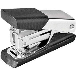 Grampeador Mini Ge-1046 Genial 12Fls Preto Gramp Line