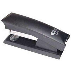 Grampeador Plastico Cis C-8 P/12Fls.26/6 Preto Sertic