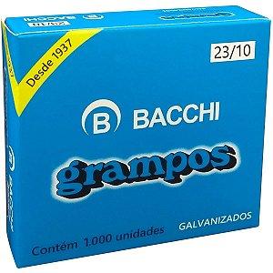 Grampo Para Grampeador 23/10 Galvanizado 1000 Grampos Bacchi