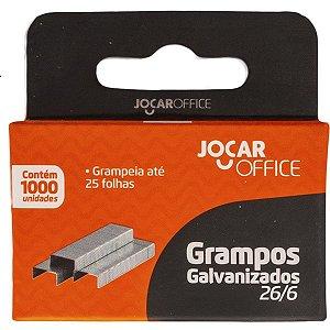 Grampo Para Grampeador 26/6 Galvanizado 5000 Grampos Leonora