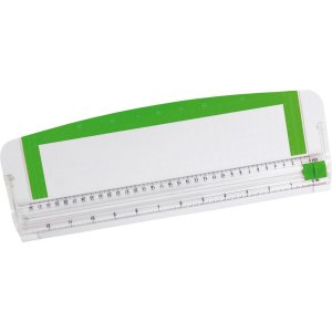 Guilhotina Refiladora Plastico 37X16Cm P/5 Folhas Kit