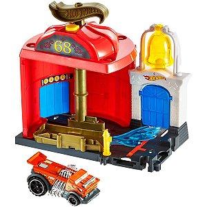 Hot Wheels Pista E Acessorio City Conjunto Basico Sortido Mattel