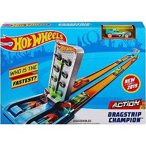 Hot Wheels Pista E Acessorio Pista De Campeonato Mattel
