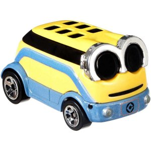 Hot Wheels Minions Carro Personagem Mattel