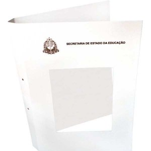 Impresso Escolar Capa Processo Branca See Unica Grafica