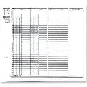 Impresso Escolar Formulario Lencol 100 Folhas Unica Grafica