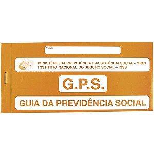 Impresso Previdencia Social Carne Gps 12X02Fls. Tamoio