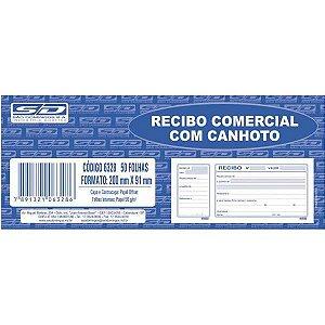 Impresso Recibo Comercial Com Canhoto 50F Sao Domingos