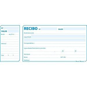 Impresso Recibo Comercial Com Canhoto 50F Pauta Branca