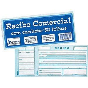 Impresso Recibo Comercial Com Canhoto 50F Tamoio