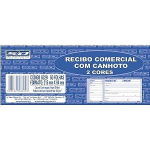 Impresso Recibo Comercial Com Canhoto 50F 2Cor Sao Domingos