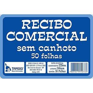 Impresso Recibo Comercial Sem Canhoto 50F Tamoio