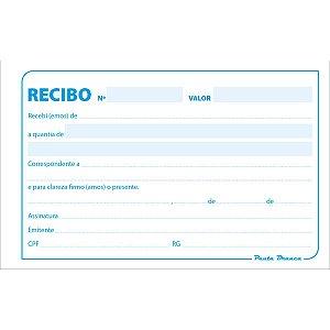 Impresso Recibo Comercial Sem Canhoto 50F Pauta Branca