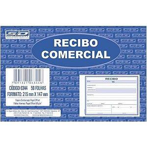 Impresso Recibo Comercial Sem Copia 50F Grande Sao Domingos