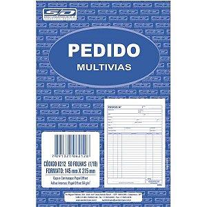 Impresso Talao De Pedido 1/18 1 Via 50 Folhas Sao Domingos