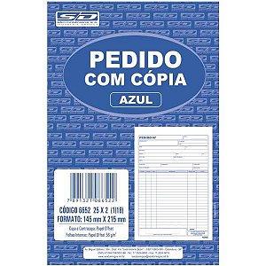 Impresso Talao De Pedido 1/18 2 Vias 25 Folhas Sao Domingos