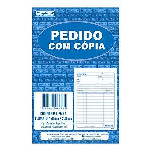 Impresso Talao De Pedido 1/18 3 Vias 25 Folhas Sao Domingos