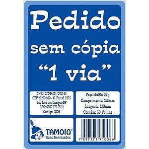 Impresso Talao De Pedido 1/36 1 Via 50 Folhas Tamoio