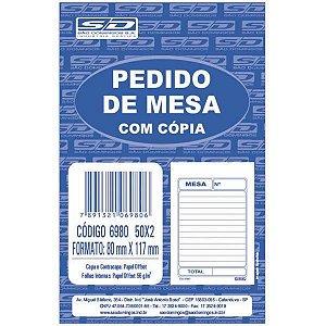 Impresso Talao De Pedido Mesa 2 Vias 50 Folhas Sao Domingos