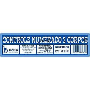 Impresso Talao Comando 2 Corpos 100Fls. Tamoio
