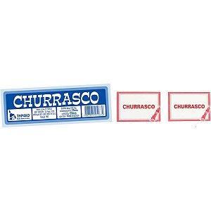 Impresso Talao Ficha Churrasco 50X2 75Mmx160M Tamoio