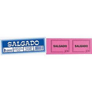 Impresso Talao Ficha Salgado 50X2 75Mmx160Mm Tamoio