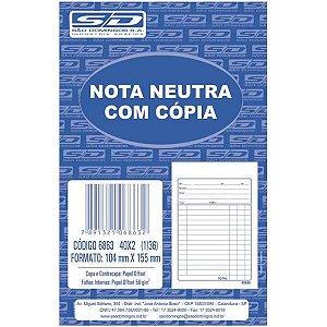 Impresso Talao Nota Neutra 1/36 40X2 104X146 Sao Domingos