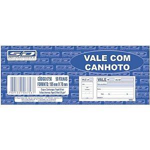 Impresso Vale 100 Folhas Com Canhoto Sao Domingos
