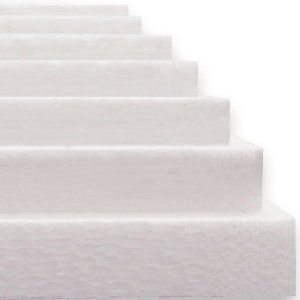 Isopor Em Placas 100Cmx50Cm 10 Mm Caixa C/25 Placas Placterm