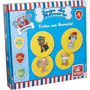 Jogo Da Memoria Esquadrao Pet Em Madeira Brinc. De Crianca