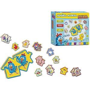 Jogo Da Memoria Galinha Pintadinha 24 Pecas Nig Brinquedos