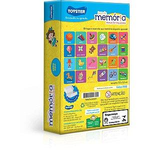 Jogo Da Memoria Meus Brinquedos Toyster