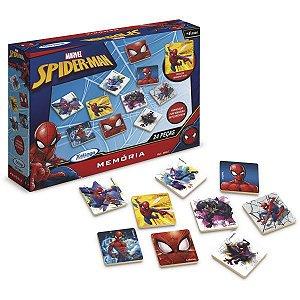 Jogo Da Memoria Spider-Man Ultimate 24 Pecas Xalingo