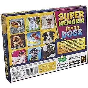Jogo Da Memoria Super Memoria Funny Dogs Grow
