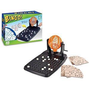 Jogo De Bingo 48 Cartelas Brinquedos Nig